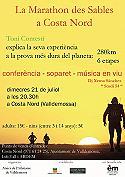 Marathon de Sables a Costa Nord