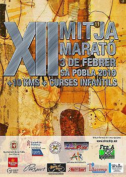 XII Mitja Marató + 10 km + Cursa Infantil Sa Pobla 2019