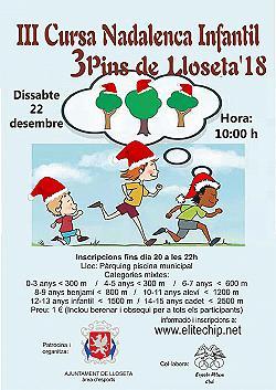 Cursa nadalenca infantil 3 Pins de Lloseta 2018