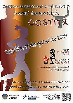 V Cursa Popular Solidària Sant Sebastià a Costitx 2019