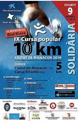 IX 10 km Ciutat de Manacor 2019